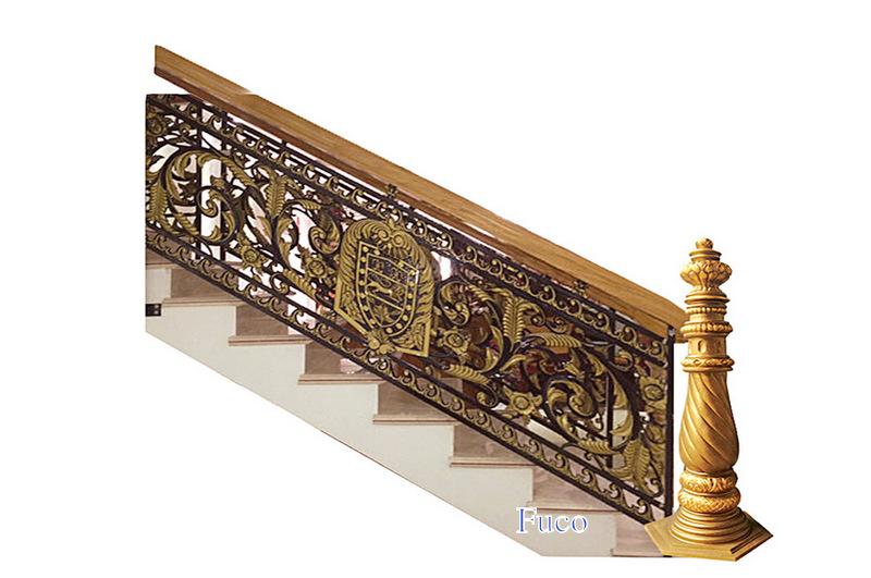 Báo giá cầu thang hợp kim nhôm đúc, giá cầu thang nhôm đúc
