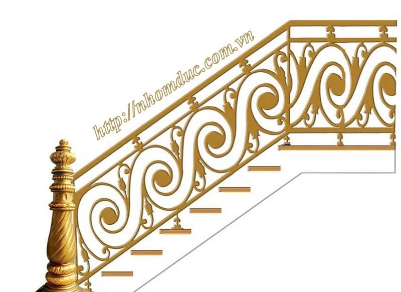 Bảng giá cầu thang nhôm đúc