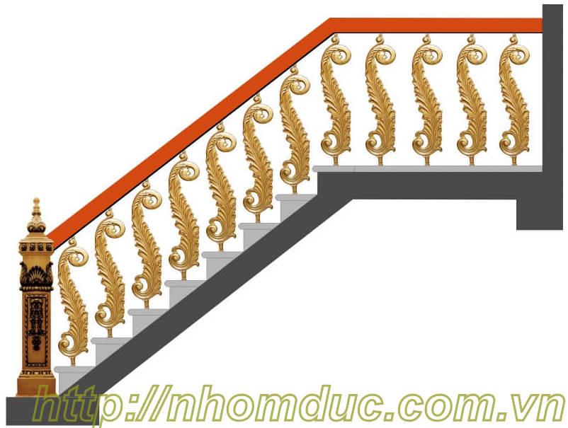 Cầu thang nhôm đúc, Nhôm đúc Hà Nội