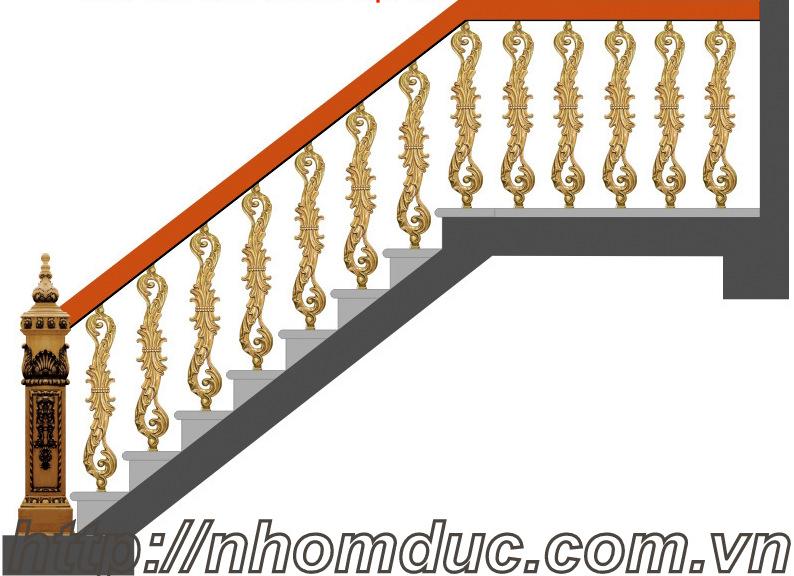 hàng rào nhôm đúc, ban công nhôm đúc với rất nhiều mẫu mã đẹp, sang trọng