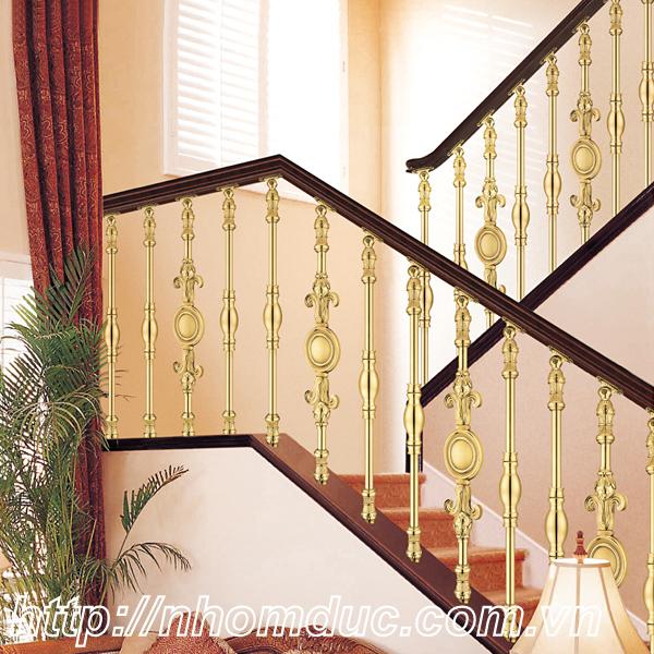 Lắp đặt cầu thang nhôm đúc