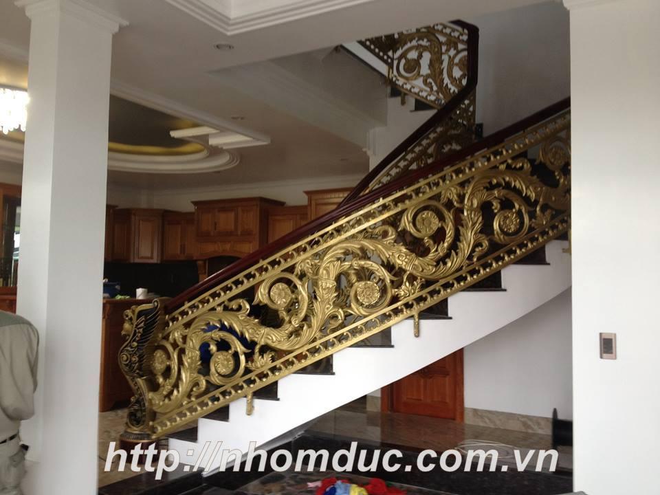 Cầu thang nhôm đúc, Chuyên sản xuất, tư vấn, thiết kế, thi công cầu thang nhôm đúc bền đẹp. Cầu thang nhôm đúc Fuco có chất lượng cao nhất trên thị trường