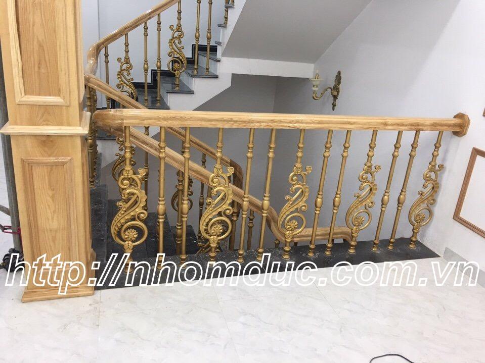 Cầu thang biệt thự, Cầu thang nhôm đúc Fuco