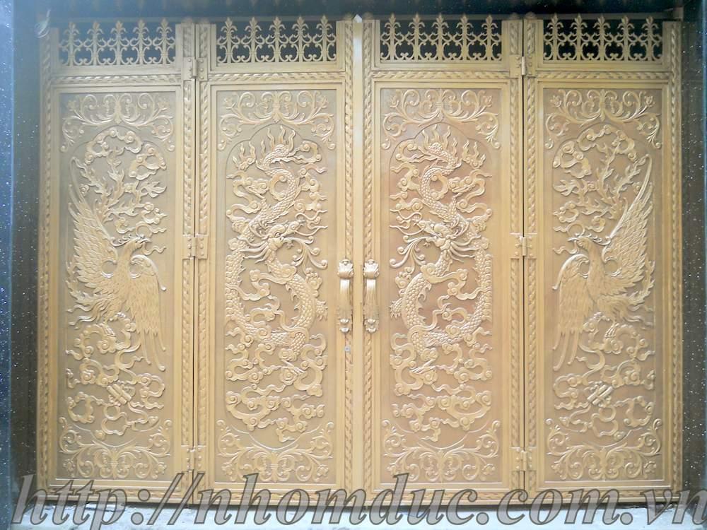 Hình ảnh cho cửa cổng hợp kim nhôm đúc fuco