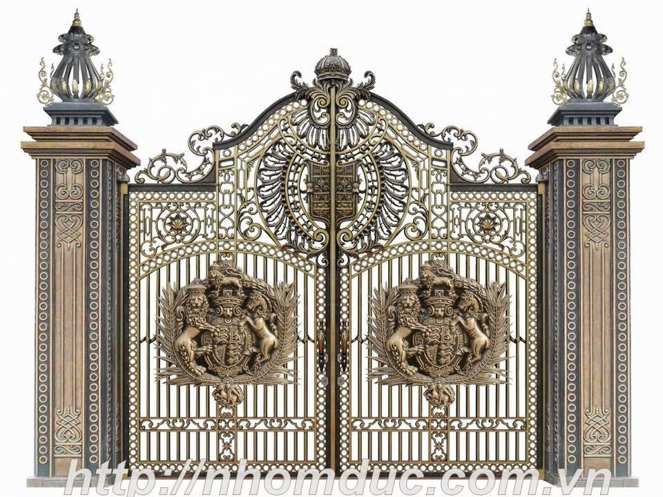 Cổng nhôm đúc Buckingham