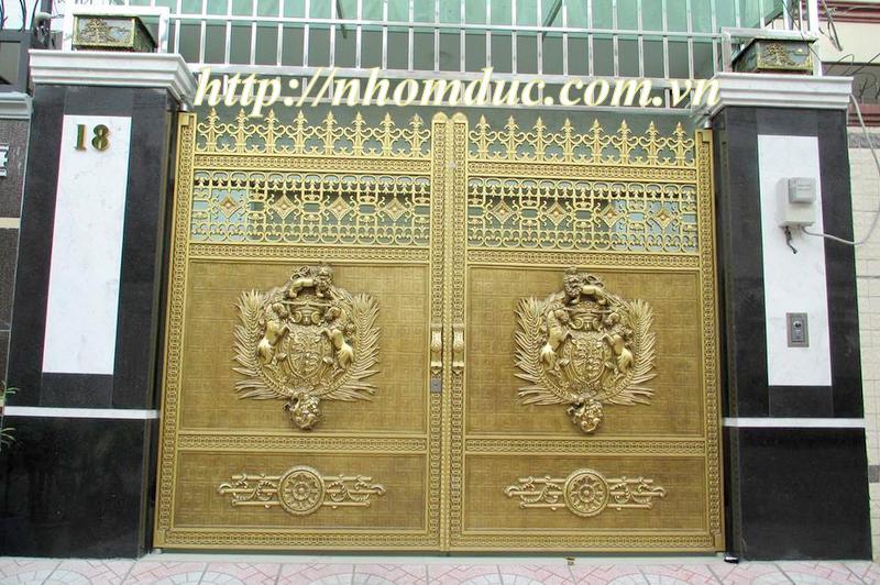 Thông tin giá cửa cổng nhôm đúc