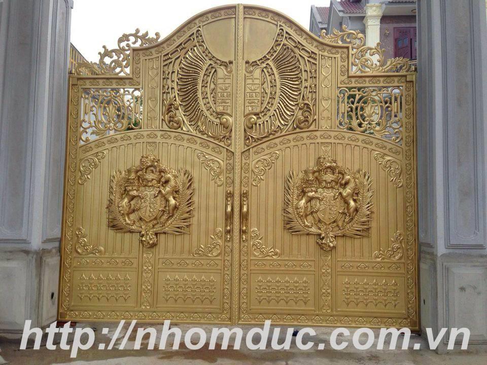 Cửa cổng đúc đặc hợp kim nhôm