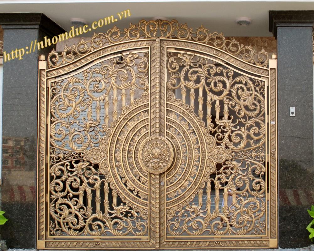 Tư vấn cổng biệt thự nhôm đúc đẹp giá tốt nhất trên thị trường