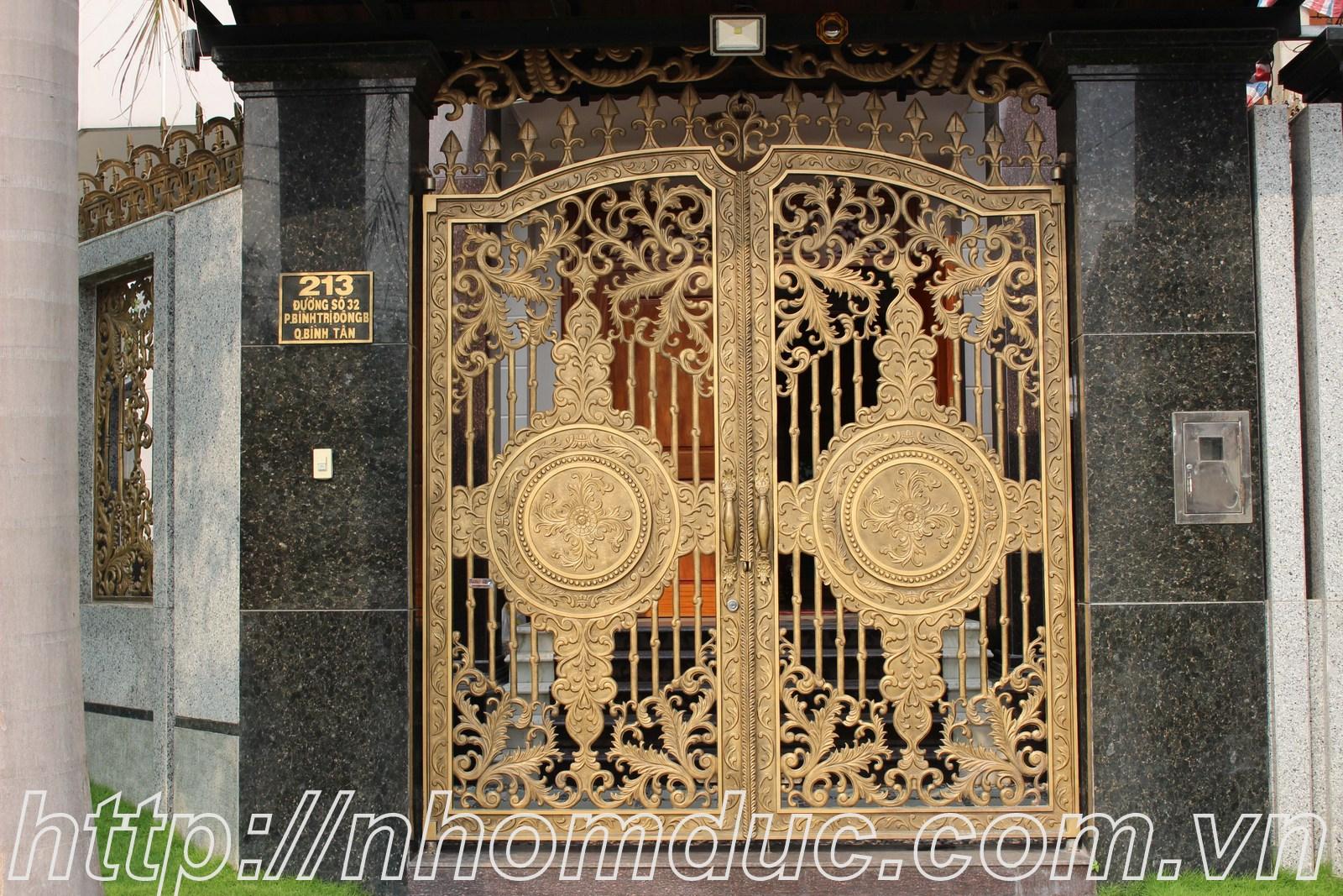 Công trình nhôm đúc tại thành phố Hồ Chí Minh