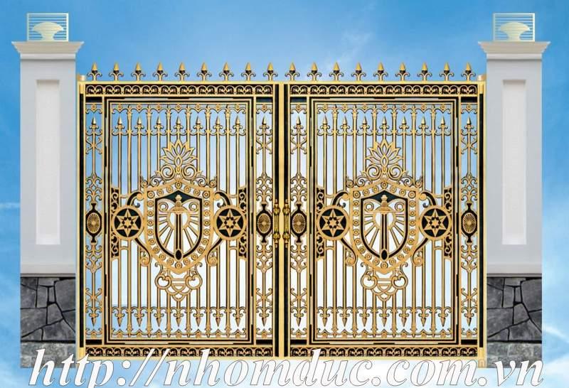 cổng nhôm đúc Bình Dương