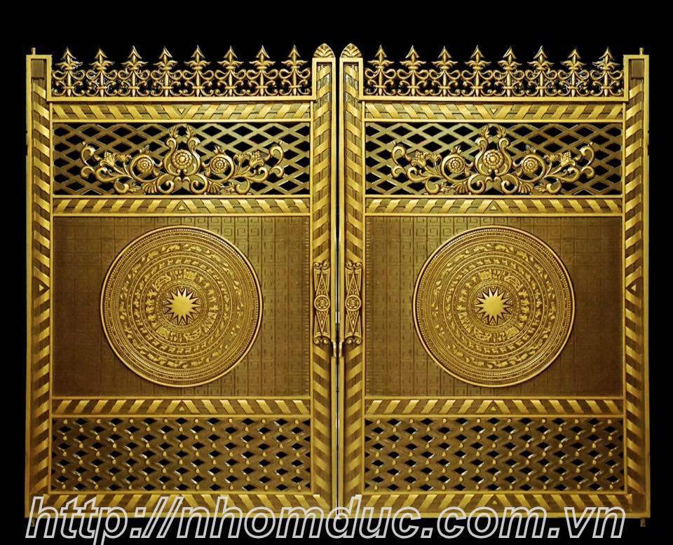 cửa cổng hợp kim nhôm đúc Bình Dương, cổng nhôm đúc giá rẻ Fuco Thủ Dầu Một, cổng nhôm đúc giá rẻ Fuco Thuận An