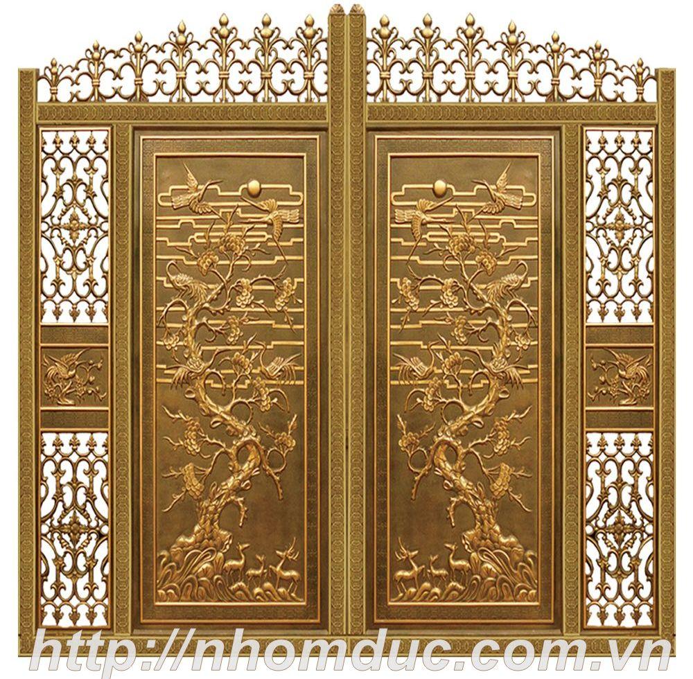 cửa cổng hợp kim nhôm đúc Từ Sơn, cửa cổng hợp kim nhôm đúc Bến Tre