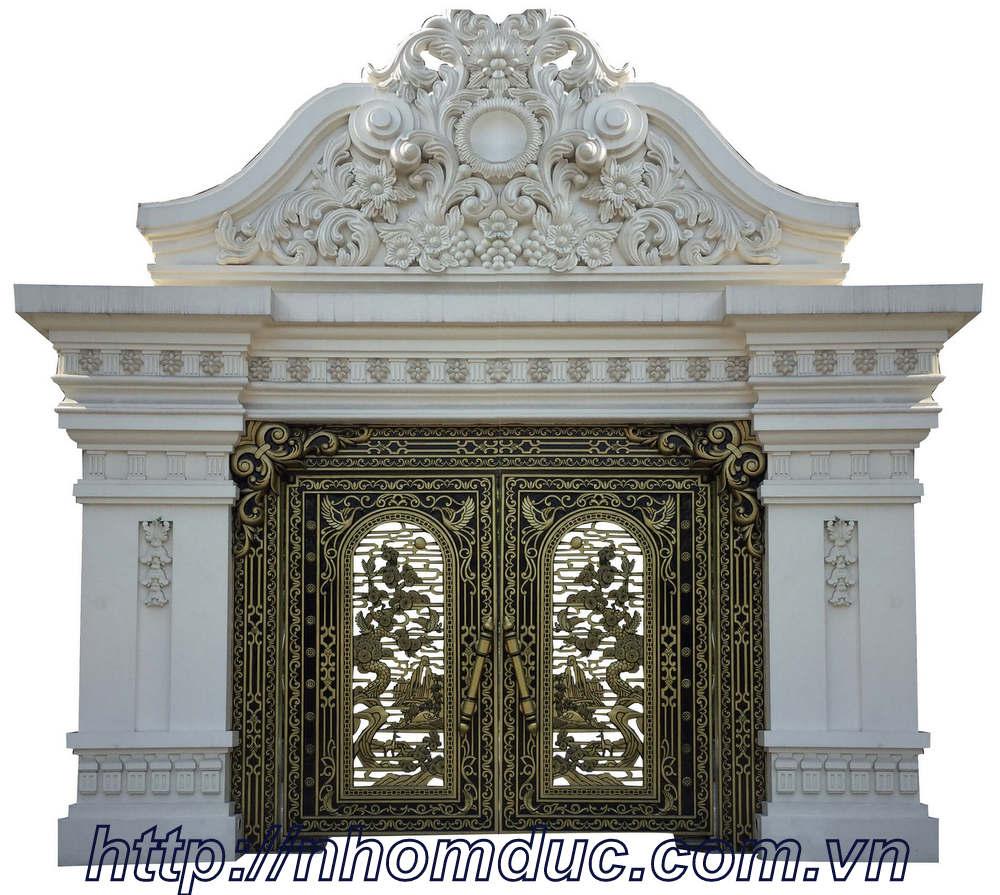 Công trình nhôm đúc tại thành phố Hồ Chí Minh, cty Fuco thi công công trình nhôm đúc, cửa nhôm đúc, cổng nhôm đúc