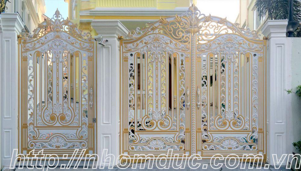 Báo giá nhôm đúc, báo giá các loại cổng nhôm đúc từ cổng nhôm đúc đơn giản