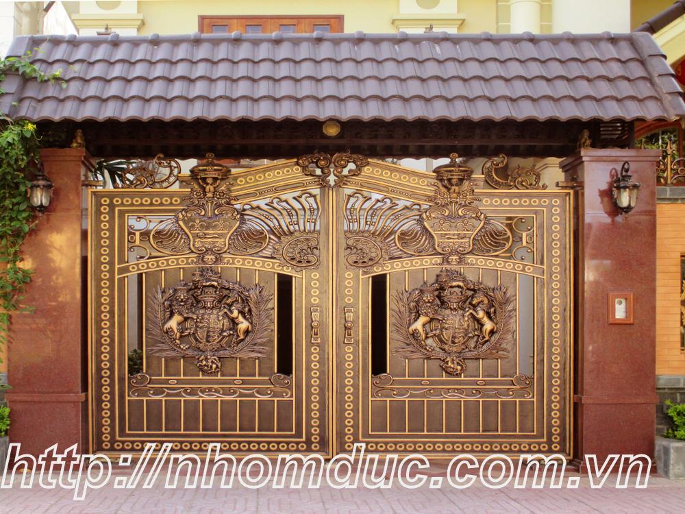 Công trình nhôm đúc tại thành phố Hồ Chí Minh, cty Fuco thi công công trình nhôm đúc, cửa nhôm đúc