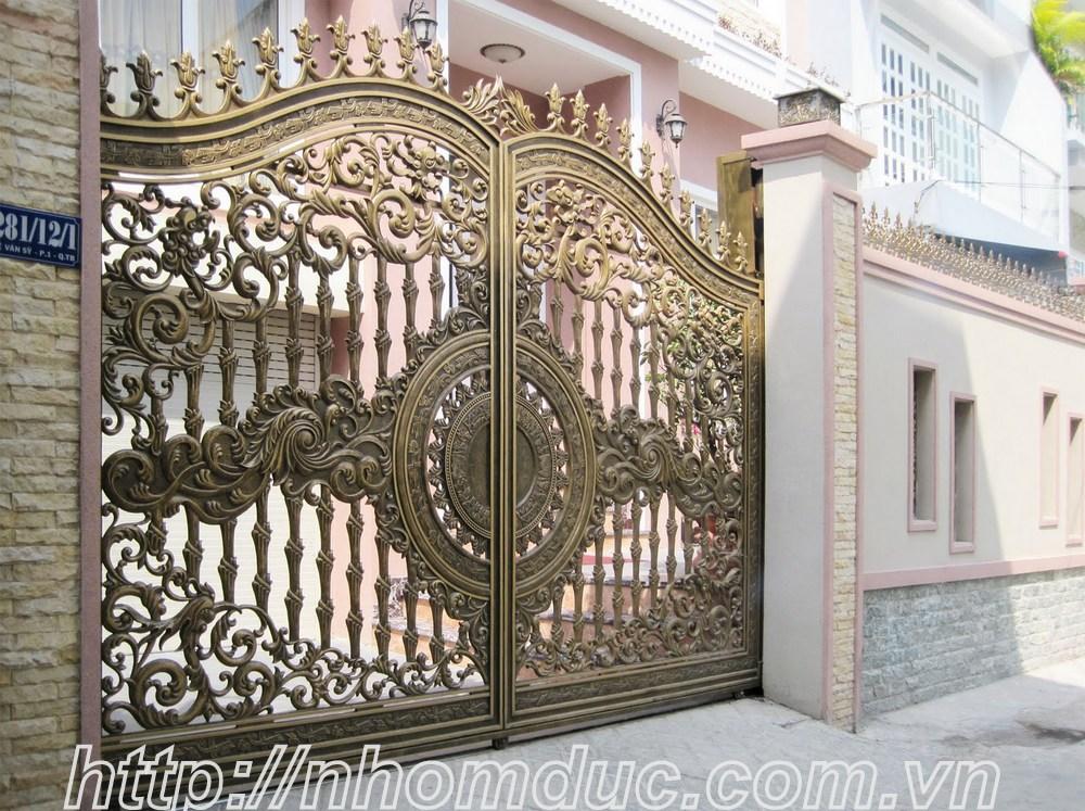 cửa cổng biệt thự nhôm đúc Fuco Vĩnh Yên, cửa cổng biệt thự nhôm đúc Fuco Phúc Yên, cửa cổng biệt thự nhôm đúc Fuco Yên Bái