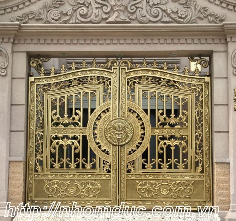 Thi công cổng nhôm đúc Tân Bình, Hồ Chí Minh