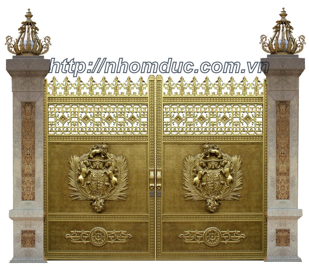 Thi công cổng nhôm đúc Tân Phú, Hồ Chí Minh