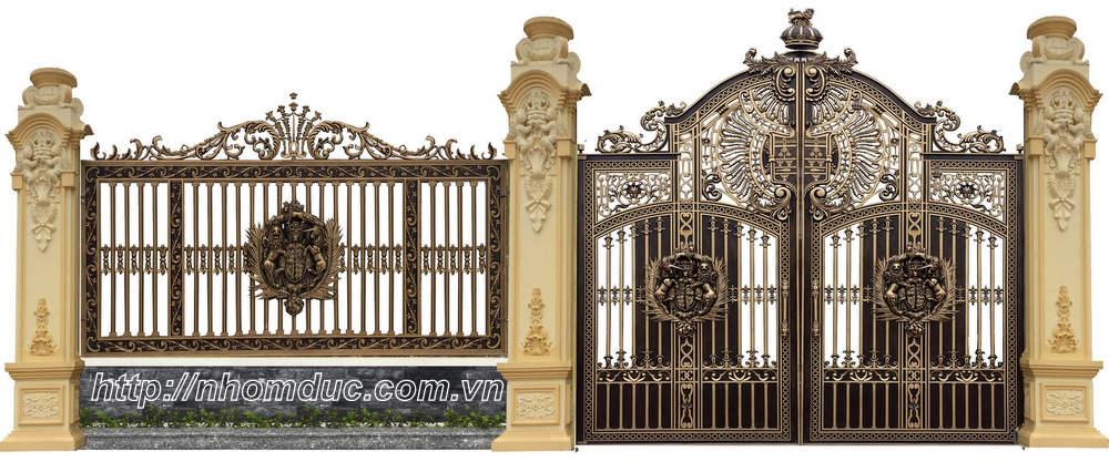 Thi công cổng nhôm đúc Thủ Đức, Hồ Chí Minh