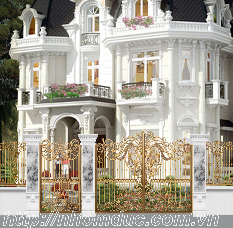 cty Fuco thi công công trình nhôm đúc, cửa nhôm đúc, cổng nhôm đúc, hàng rào nhôm đúc