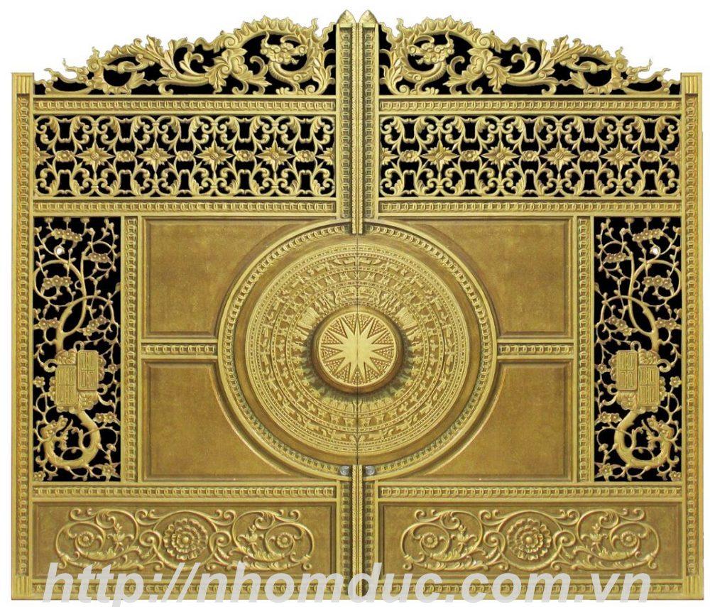 Mẫu thiết kế cửa nhôm đúc