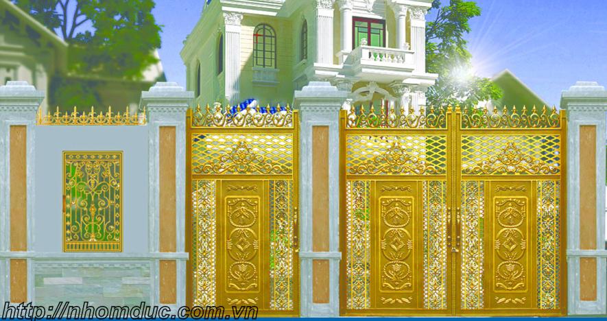 cung cấp các mẫu cửa nhôm đúc, cổng nhôm đúc đẹp