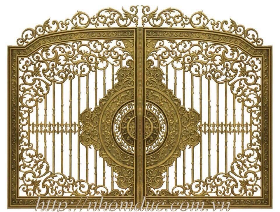 Giá cổng đồng đúc, giá cổng nhôm đúc