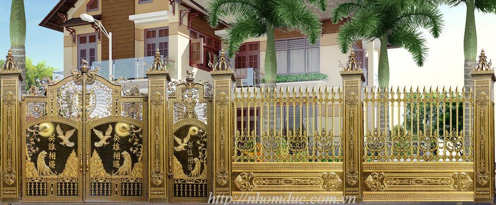 Cầu thang nhôm đúc đẹp, bảo hành trọn đời, mẫu mã độc quyền, giá cả hợp lý