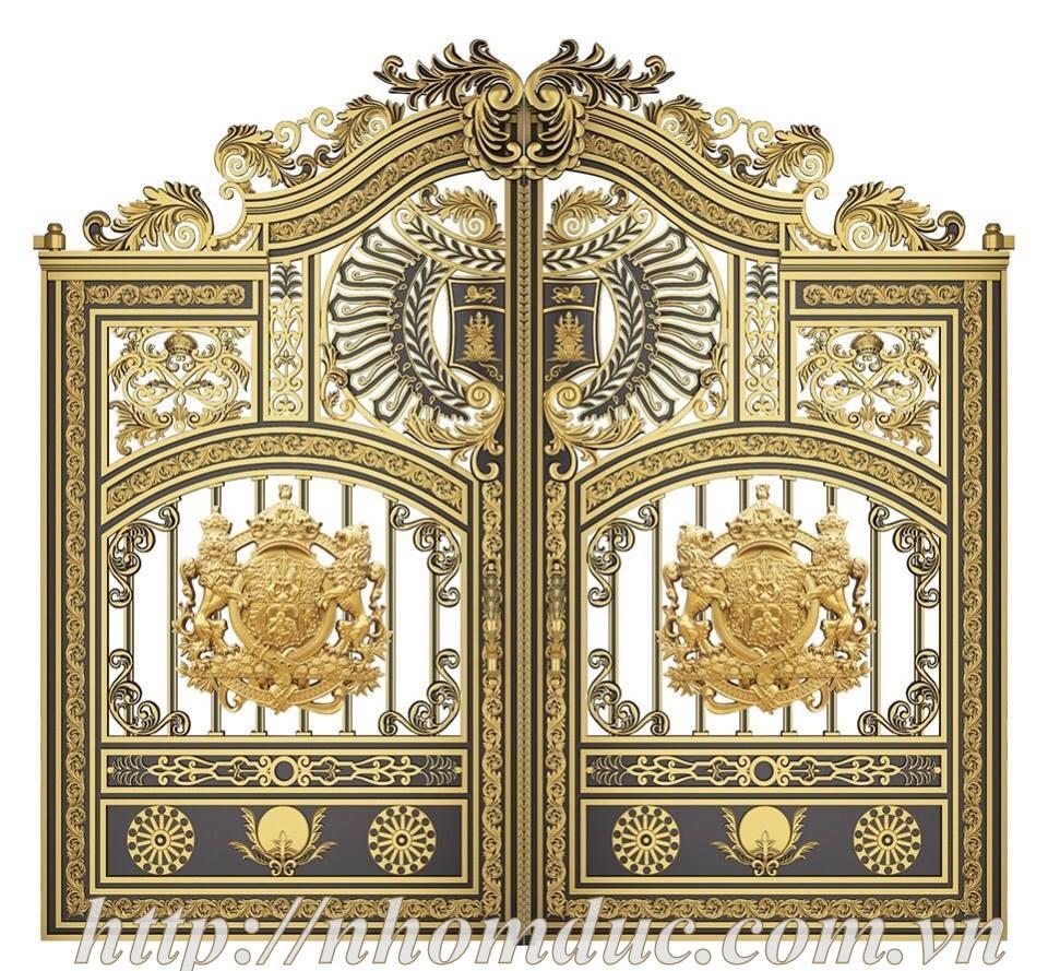 Báo giá cổng nhôm đúc Fuco, giá 200kg