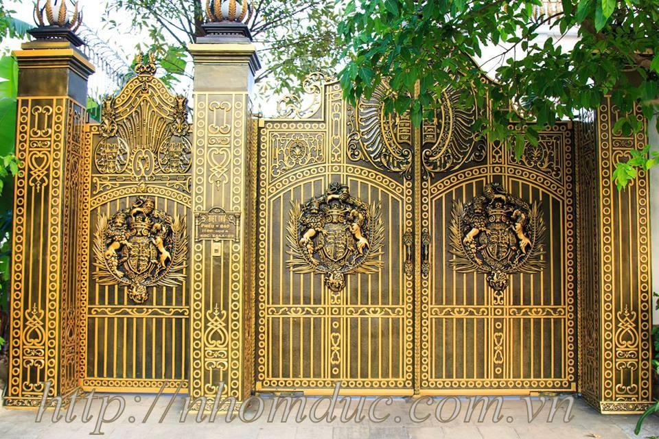 lắp cổng nhôm đúc Fuco Long An, lắp cổng nhôm đúc Fuco Tân An, lắp cổng nhôm đúc Fuco Kiến Tường