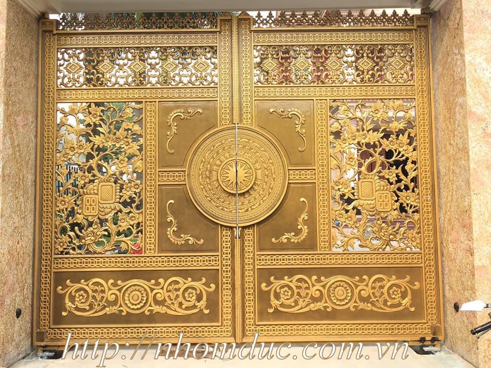 cửa cổng biệt thự nhôm đúc Fuco Thừa Thiên Huế, cửa cổng biệt thự nhôm đúc Fuco TP.Huế