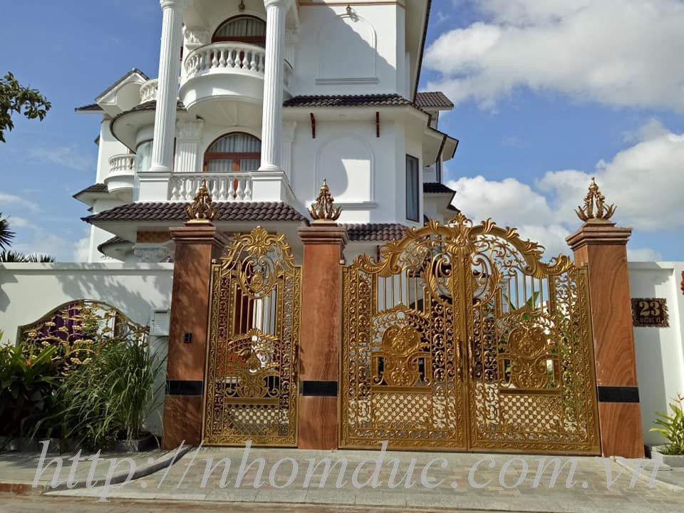 cổng nhôm đúc giá rẻ Fuco Phước Long, cổng nhôm đúc giá rẻ Fuco Bình Thuận, cổng nhôm đúc giá rẻ Fuco Phan Thiết