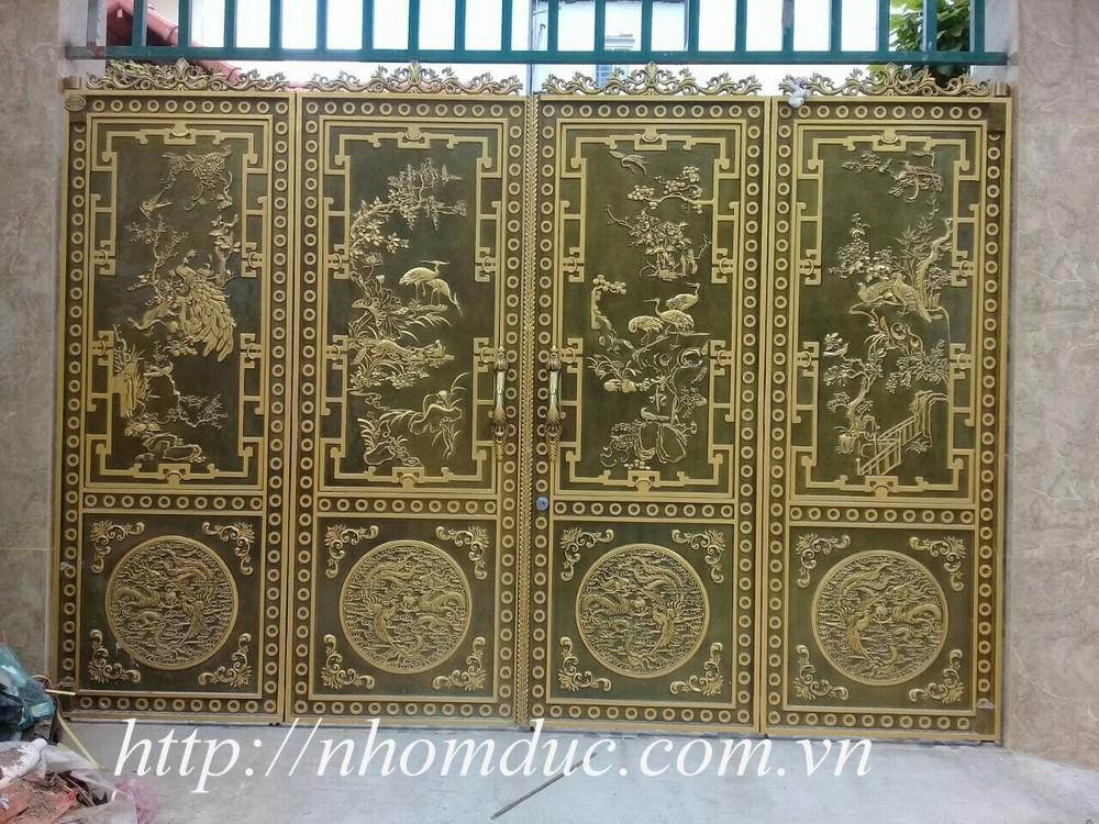 Mẫu thiết kế nhôm đúc đẹp Hà Nội và Hồ Chí Minh, các mẫu thiết kế nhôm đúc