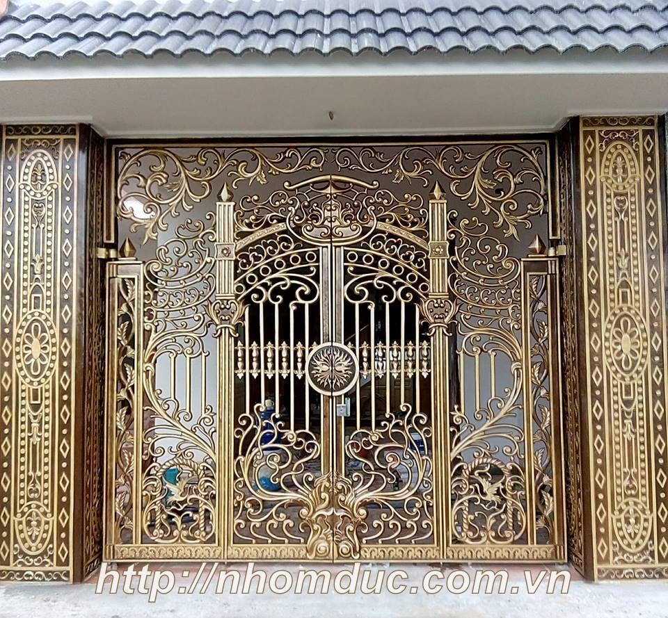 Cửa cổng hợp kim nhôm đúc, sản phẩm nhôm đúc công nghệ Nhật Bản. Nhôm đúc Fuco có nhiều tính năng nổi trội