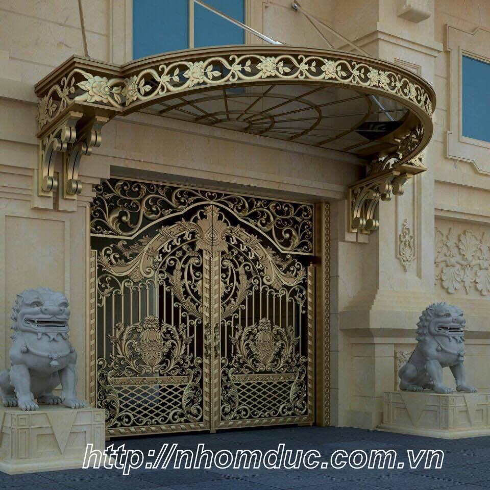 cty Fuco Chuyên phân phối, lắp đặt cổng nhôm đúc, cửa nhôm đúc, cổng biệt thự, cổng hợp kim nhôm.