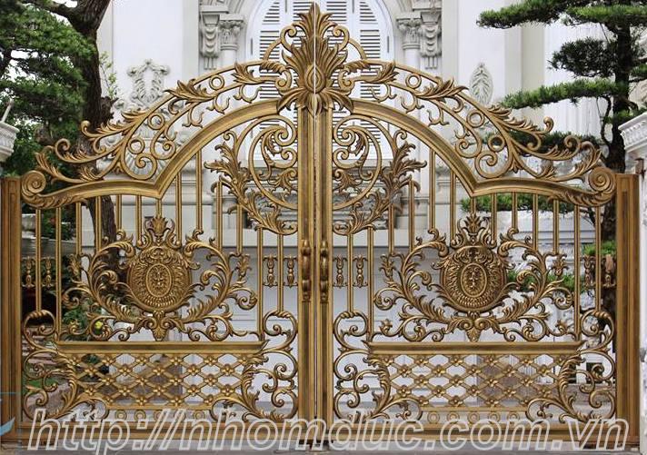Chuyên sản xuất cổng nhôm đúc, cửa nhôm đúc, lan can nhôm đúc, hàng rào nhôm đúc, bông gió nhôm đúc