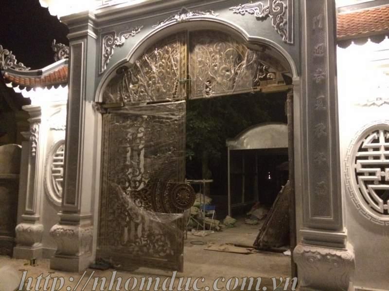 các mẫu cổng nhà chùa