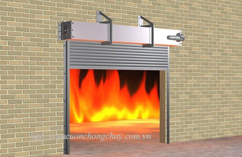 Cửa cuốn chống cháy 120 phút