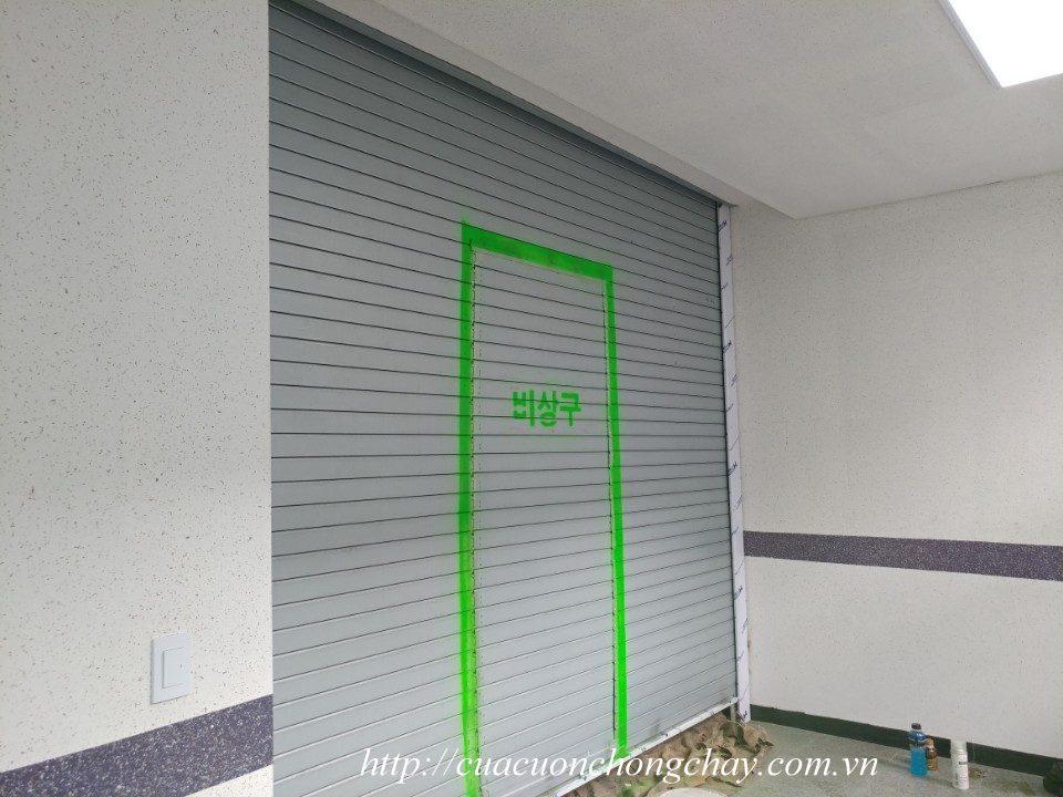 Cửa cuốn shutter door