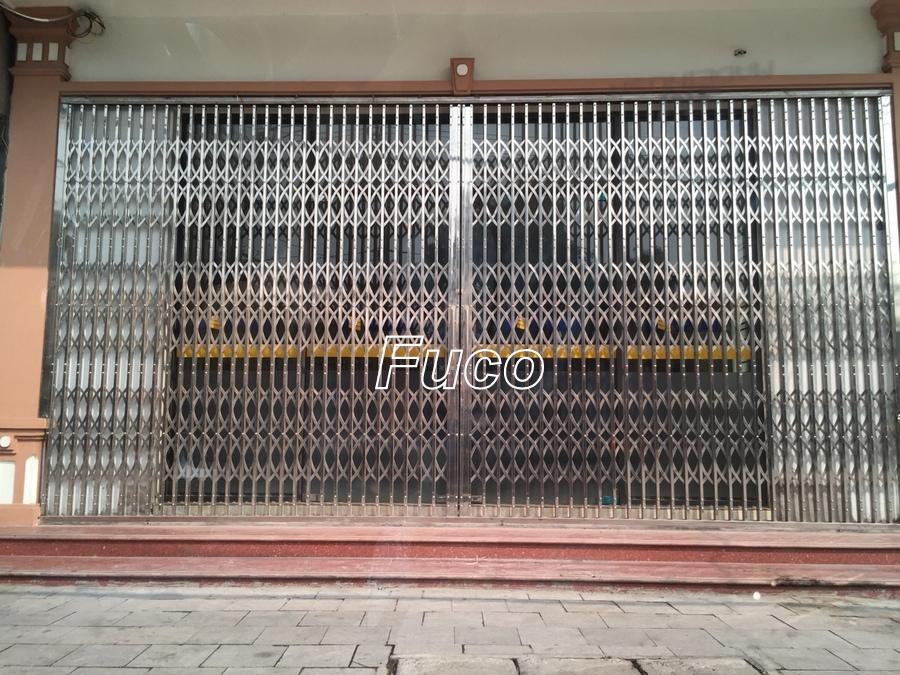 Cửa xếp INOX chống trộm