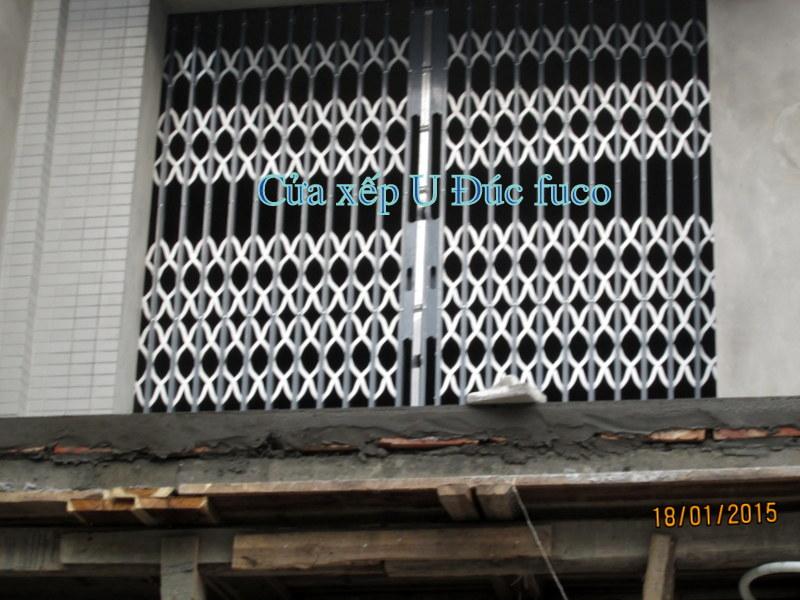 Báo giá cửa xếp U Đúc tại Hà Nội, giá cửa xếp hộp kẽm. Báo giá cửa xếp sơn tĩnh điện chất lượng tốt nhất tại Hà nội.