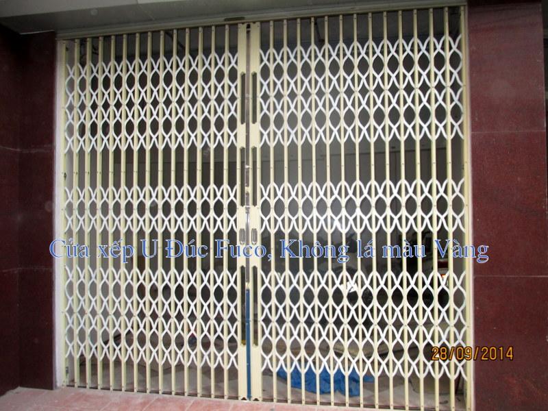 Giá cửa sắt sơn tĩnh điện