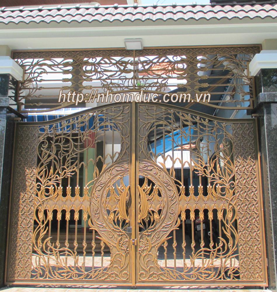 Mẫu cửa nhôm đúc Hà Nội