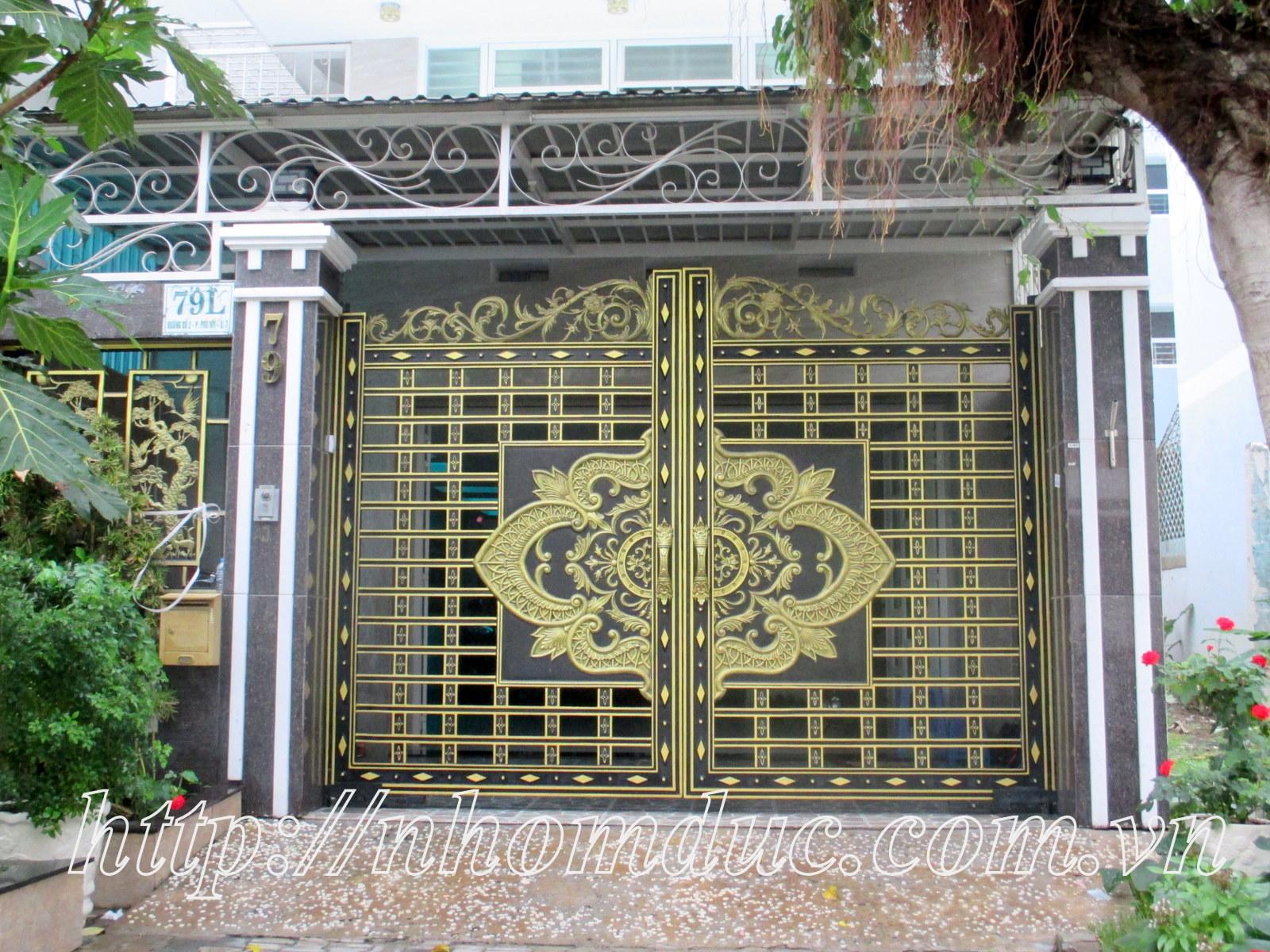 cửa nhôm nguyên khối fuco