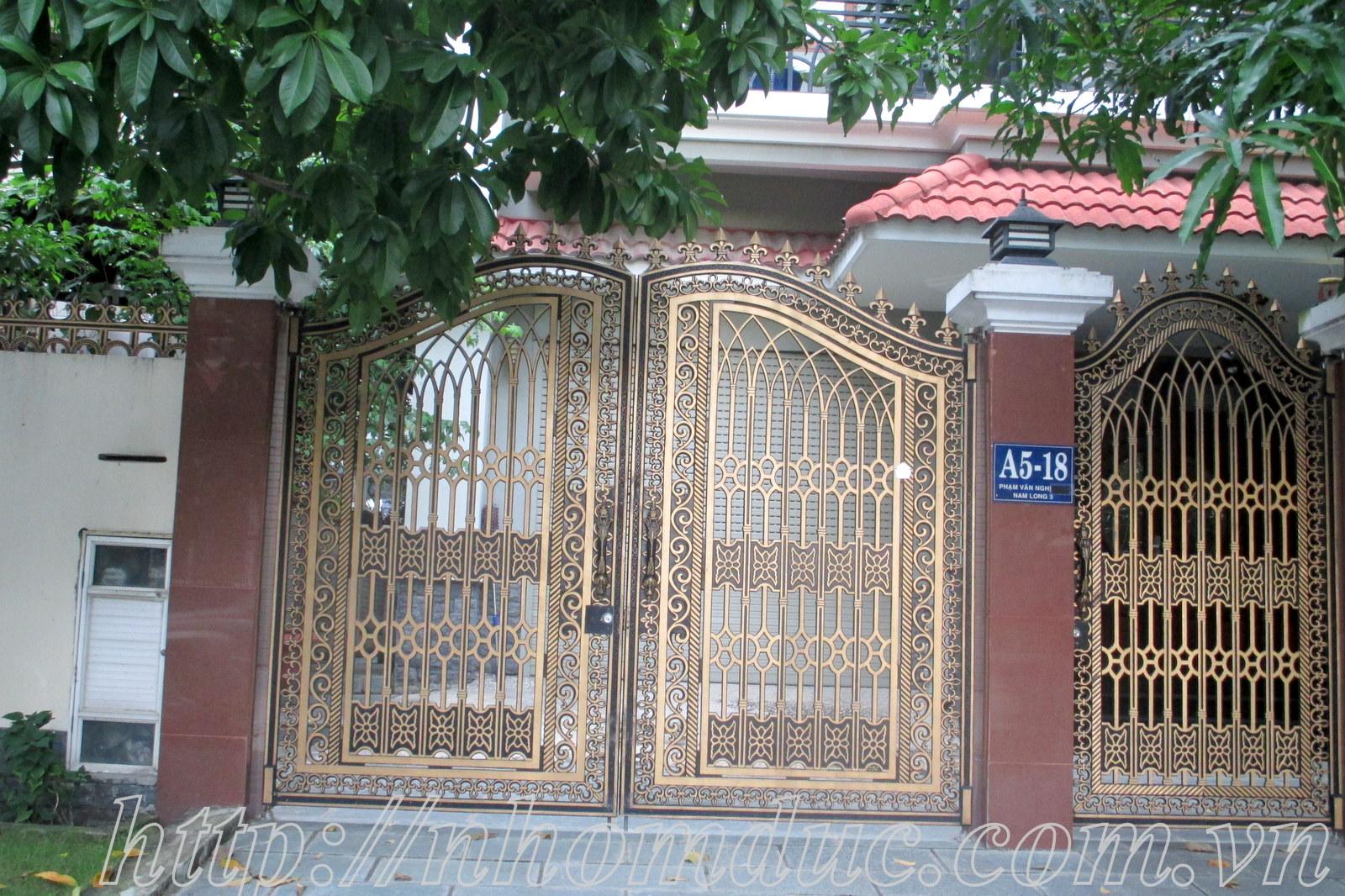 Báo giá cửa nhôm đúc tại Hà Nội