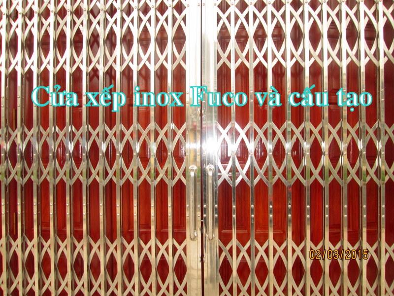 Lắp đặt cửa xếp inox, Cty Fuco Hà Nội chuyên sản xuất và lắp đặt cửa xếp INOX, cửa xếp Đài Loan