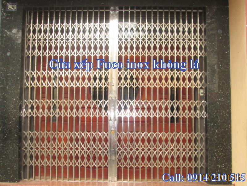Báo giá cửa xếp tại Hà Nội, Cửa xếp Fuco Hà Nội