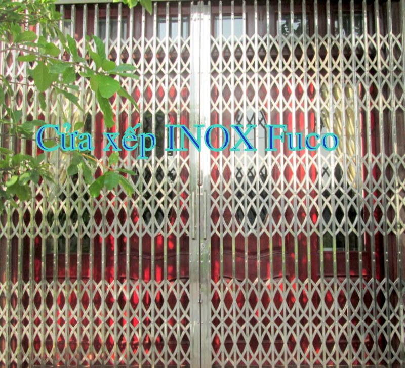 Bảng giá cửa xếp INOX Fuco