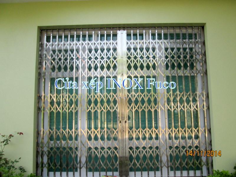 Báo giá cửa xếp tại Hà Nội, Cửa xếp, giá cửa xếp, liên hệ Fuco để biết giá cả ... Báo giá cửa xếp INOX tại Hà Nội Các sản phẩm cửa xếp INOX 201 và cửa xếp