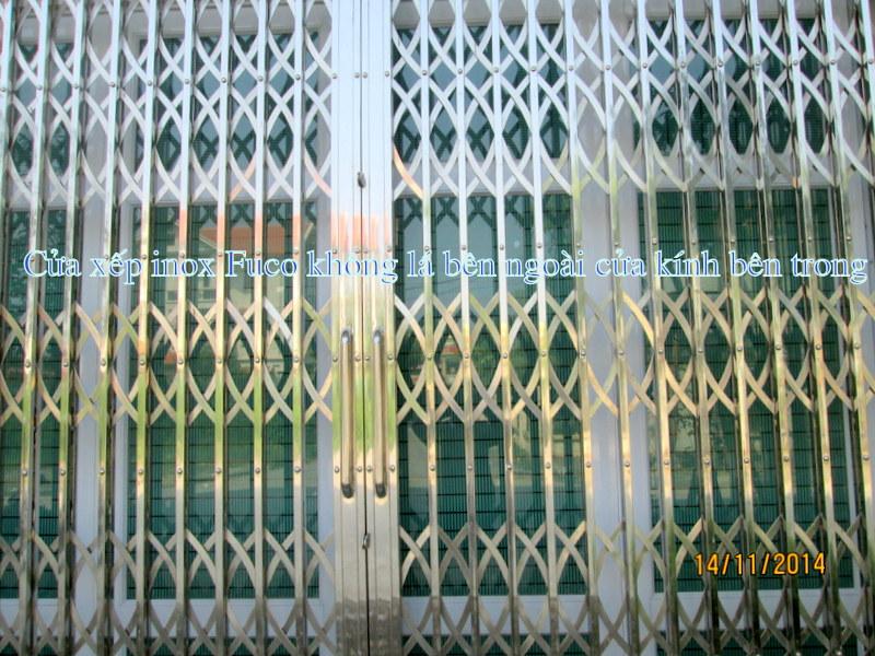 Báo giá cửa xếp tại Hà Nội